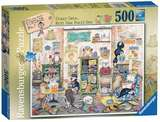 Small ravensburger fun junction toy shop perth crieff perthshire scotland jigsaw puzzle crazy cats vintage knit one purl one 500pc