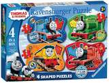 Small ravensburger fun junction toy shop perth crieff perthshire scotland jigsaw puzzle thomas and friends 4 shaped puzzles 4005556069781