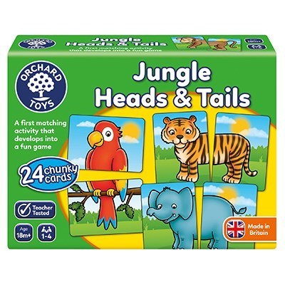 Large 058 jungle heads  tails box 1800