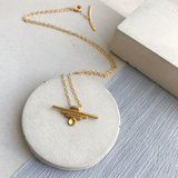 Small tulumgoldnecklace