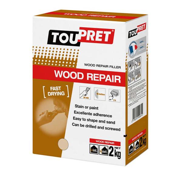 Large toupret wood repair 2kg
