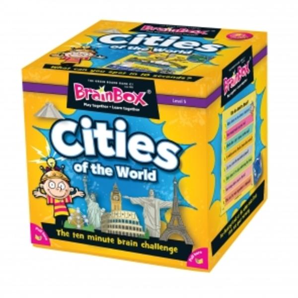 Large brainbox brain box cities of the world memory game