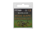 Small barbless wide gape specialist eyed hook packed updated