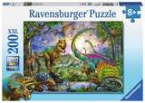 Small ravensburger fun junction toy shop perth crieff perthshire scotland jigsaw puzzle jig saw dinosaurs dinosaur realm of the giants 200xxl