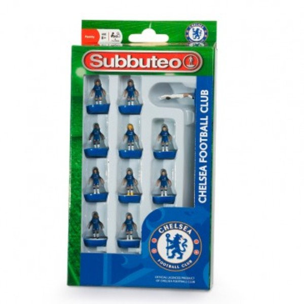 Large player chelsea team subbuteo table top football