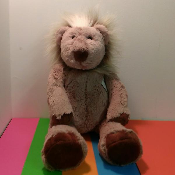 Large manhattan toy rumpledies landon lion soft toy plush cuddly teddy
