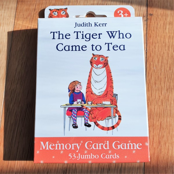 Large fun junction toy shop perth crieff paul lamond games card game family memory game the tiger who came to tea