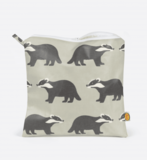 Small kissingbadger dusky green toiletrybag blink falmouth