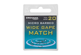 Small micro barbed wide gape match spade end packed updated