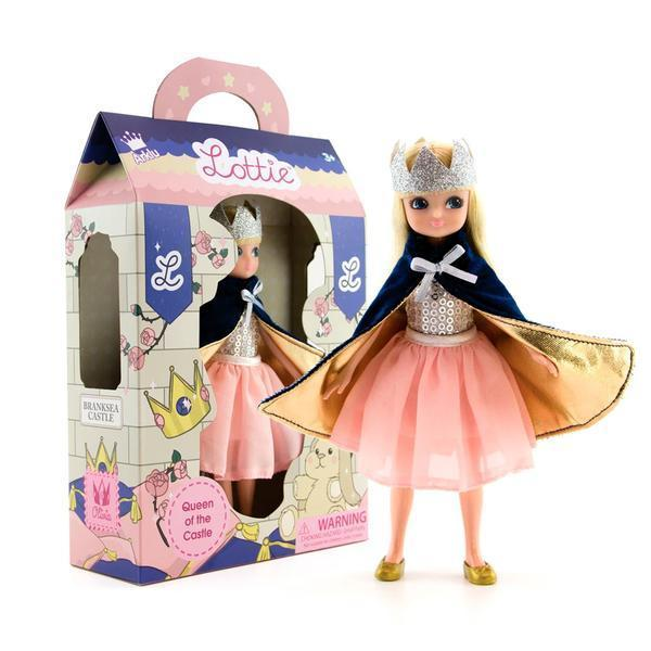 Large lottie doll queen of the castle