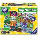 Small orchard toys big number jigsaw jigsaw puzzle