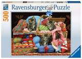 Small ravensburger fun junction toy shop perth crieff perthshire scotland jigsaw puzzle jig saw knitter s delight 500pc