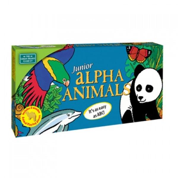 Large junior alpha animals name animals alphabet game literacy