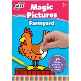 Small fun junction galt 12 colouring coin rub friction magic picture pictures