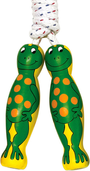 Large skipping rope frog frogs froggy froggie design lanka kade fair trade toy toys wooden wood natural fun junction toy shop stop store crieff perth perthshire scotland
