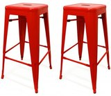 Small red stools