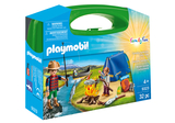Small playmobil fun junction toy shop perth crieff perthshire scotland play sets imaginative play camping adventure carry case 9323
