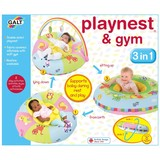 Small fun junction galt 3 in 1 three in one playnest and gym inflatable colapseable back support from birth