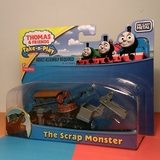 Small take n play thomas and friends the scrap monster