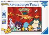 Small ravensburger fun junction toy shop perth crieff perthshire scotland jigsaw puzzle jig saw my favourite pokemon 100xxl