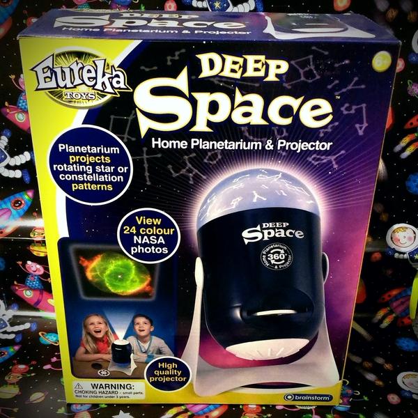Large deep space planetarium palnitarium and projector eureka toys brainstorm