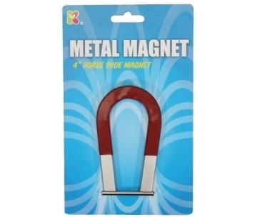 Large horse shoe magnet