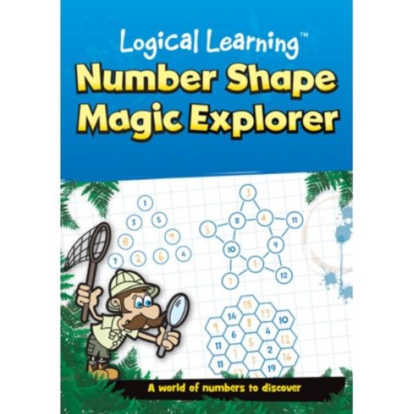 Large logical learning number shape magic explorer maths puzzles