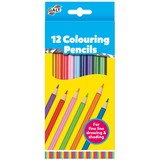 Small fun junction galt 12 colouring pencils simple traditional colouring pencils