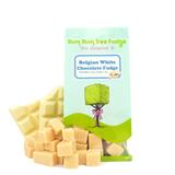 Small belgian white chocolate