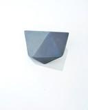 Small half icosahedron grey jacklaverick