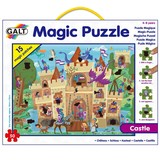 Small fun junction galt magic puzzle heat sensitive patches reveal pictures hidden scenes castle
