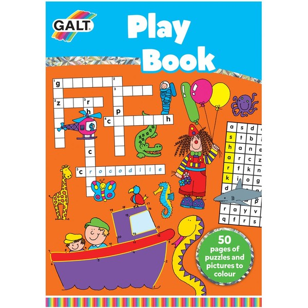 Large galt playbook 60 sixty page activity book for children aged 6 six years and up