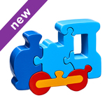 Small train jigsaw puzzle lanka kade fair trade toy toys wooden wood natural fun junction toy shop stop store crieff perth perthshire scotland