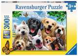 Small ravensburger fun junction toy shop perth crieff perthshire scotland jigsaw puzzle jig saw delighted dogs puzzle 300xxl selfie smile