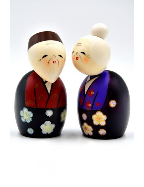Large kokeshi doll always together tommoshiraga