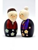 Small kokeshi doll always together tommoshiraga