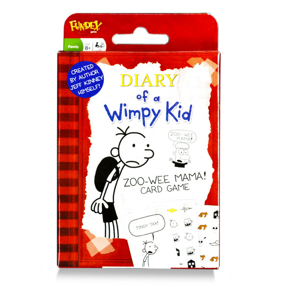 Large 2380 diary of wimpy kid card