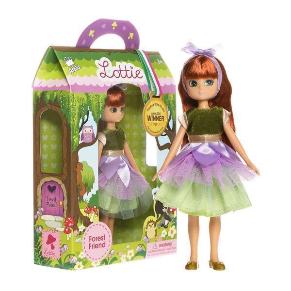 Large lottie doll forest friend