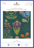 Small cross stitch kit gift dmc botanical garden bk1933