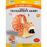 Small 3d craft triceratops