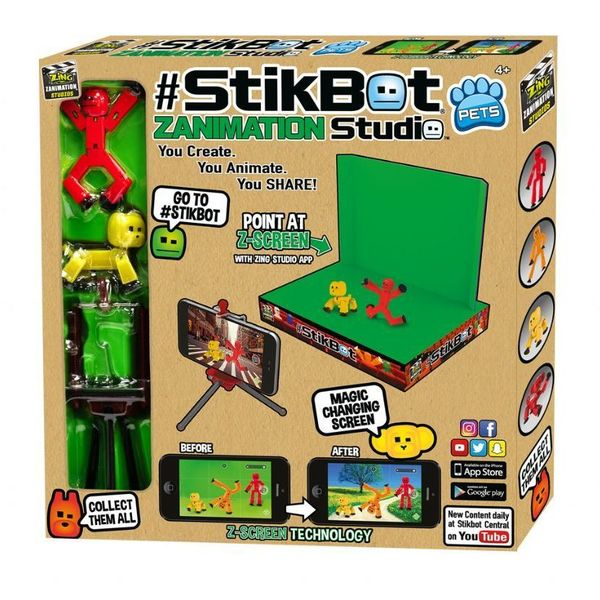 Large stikbot stickbot zanimation animation studio fun junction crieff perth perthshire toy shop scotland 3