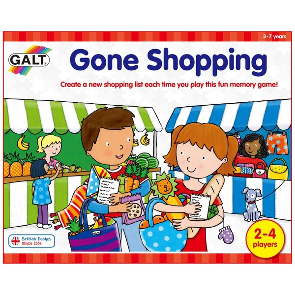Large fun junction galt game early years preschool gone shopping numeracy board game