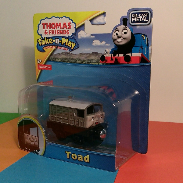 Large take n play thomas and friends toad