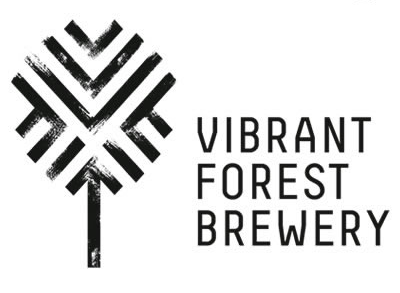 Large vibrant forest logo