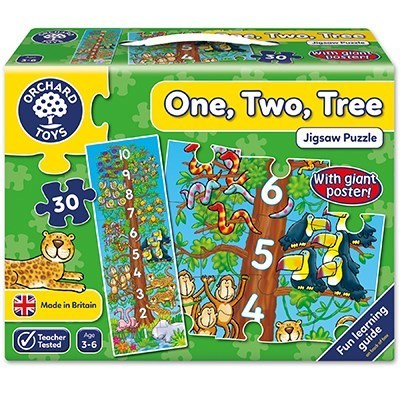Large orchard toys one two tree jigsaw puzzle