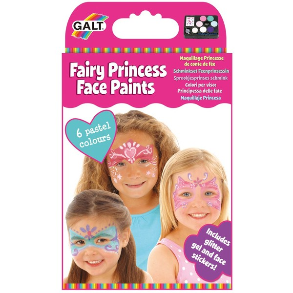 Large galt princess face paints facepaint set for 5 years and up