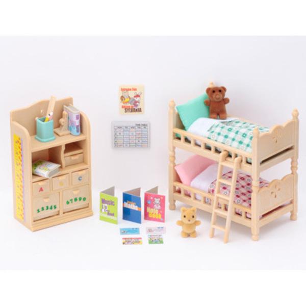 Large sylvanian families 4254 children s childrens bedroom furniture set sq