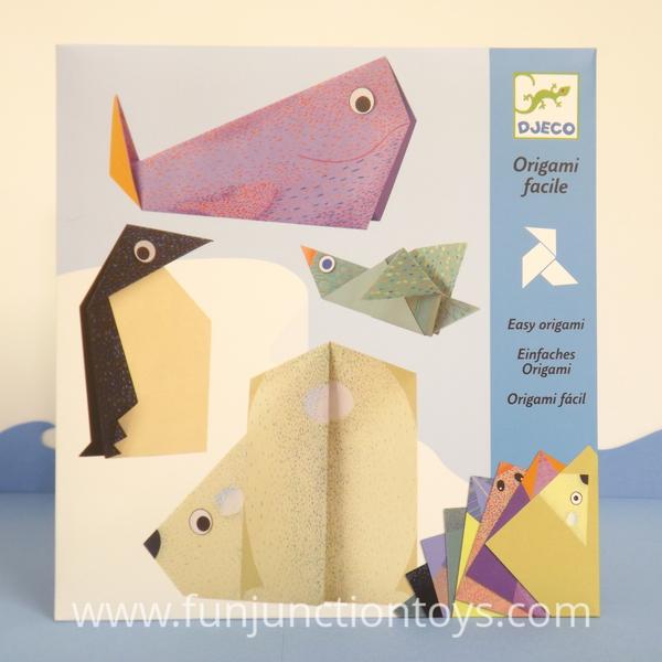 Large dj ck easy origami polar animals  w