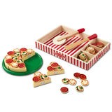 Small fun junction toy shop independent scotland melissa and doug wooden play food pizza toppings velcro