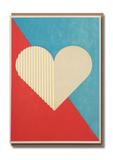 Small 7917 valentine geo heart